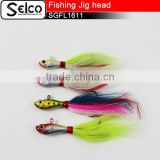 Fishing Lures Minnow Bucktail JIg Head