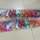 SGS 50*2mm heat transfer delicate designs guitar belt