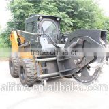 Factory supply high efficiency rock saw attachment for skid steer loader