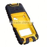 ABS bonded to TPR for handhed monitors case,plastic handsets cover,ABS instrument case