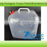 20L Foldable water carrier collapsible water container with tap