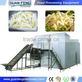 french fry cutter machine / French fries potato chips production line/french fries processing equipment