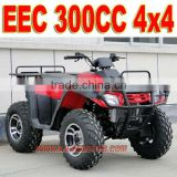 EEC 4x4 300cc Quad Bike ATV