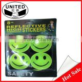 Customized reflective PVC stickers glow in dark