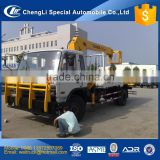 chinese cheap sq5 5 ton hydraulic arm crane with basket for trucks for hot sale, crane on dump truck, cargo truck mounted crane