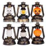 Dongguan Toys Funny Holiday Toys Halloween Pumpkin Ghosty Skull Hand Lamp Laughter Lantern Light
