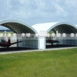Fabricated Airplane Hang, Clearspan Fabric Buildings , warehouse tent , Trussed Fabric Structure