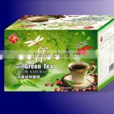green tea with coffee, 50g bagged coffee, instant coffee, 100% natural