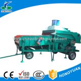 Vibration sorting grain cleaning and grading machine