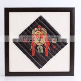 framed wall hanging painting ( bamboo carving)