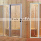 luxurious steam sauna room
