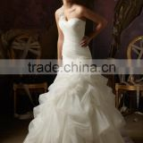 2017 luxury newest arrival mermaid wedding dress ball gown