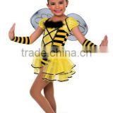 2014 hotsale kids dance costume bee--cute bee dance wear---children&adults bee dance tutu