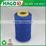 10s black recycled cotton melange discount good handfeel eco-friendly recycled yarn for weaving