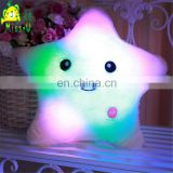 High Quality Stuffed Soft Plush LED Star Pillow Toys LED Toys Wholesale