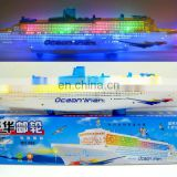 Gorgeous cruise ship with brilliant flashing lights and sound effects cruise ships for sale