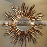 Crack Resistance Iron Sun Mirror For Home Decoration Handicraft item from jodhpur india