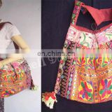 Vintage tribal shoulder bag