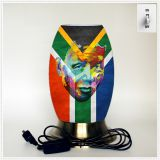 Creative lamp, decorative table lamp, LED desk lamp, South African culture series table lamp (Dzaf002)