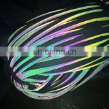 Rainbow Reflective piping with different colors