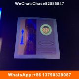 Security Anti-fake hologram hot stamped sticker