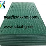 plastic moving mat polymeric mobile road surface hdpe composite swamp mats lawn protection plates driveway mat industrial