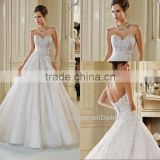 New Arrival A-line Sweetheart Neckline Empire Waist Wedding Dresses In Turkey