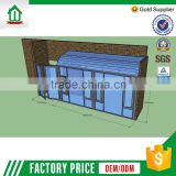 High Quality Lowest Price Simple Style Customized Glass Houses