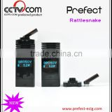 2015-2016 American hot selling products Unique Design!!PREFECT Rattlesnake Super Vapor E-Cig,Electronic Cigarette Price E Cig