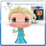 Mini Qute Funko Pop Kawaii Frozen doll princess anna & elsa action figures collection cartoon models educational toy NO.FP 82