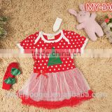 Kids Christmas Party Baby Dresses MY-IA0041