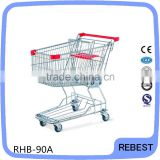 Wholesale folding shopping cart with wheels