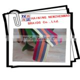 Excellent quality beautiful stripe braided elastic webbing