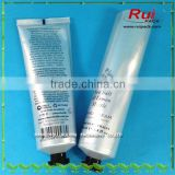 cosmetic aluminium laminated tube with screw octagonal cap