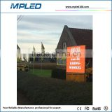 7500 bright DIP/SMD outside application high profile outdoor P10 led panel as adverts components