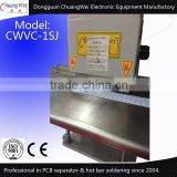 Multipurpose v cut pcb separator,printed circuit board separator machine with 2 circular blades CWVC-1S