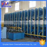 conveyor belt hydraulic press / textile core rubber belt making machine
