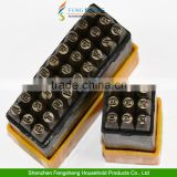 Good quality 0-9 A-Z number and letter punch set 1-3mm, Hardened & tempered steel Punches
