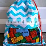drawstring gift bag Travel Pouch snack bag toy bag in different size with factory price