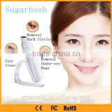 Popular Rechargeable vibration eye massager with anti-wrinkle face cream home beauty machine for personal use