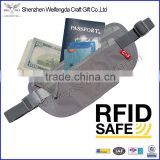 Waterproof 420D Nylon Travel Wallet Belt RFID Money Belt with Safe Pocket                                                                         Quality Choice