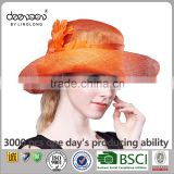 Lady Sinamay Church Hat Wholesale Women Straw Hat for Sale                                                                         Quality Choice