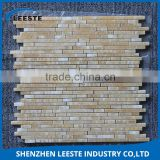 Manufacturer supply packing accept customized honey onyx stone mosaic tile