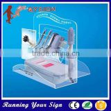 Eye catching outdoor acrylic cosmetic cabinet