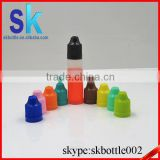 30ml pe pen dropper bottle with childproof cap e liquid unicorn bottle 48hours delievery