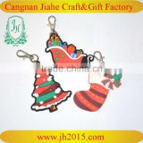 Promotional chrismas gift pvc keychain 2D custom shaped soft pvc keychain, 3d soft pvc rubber keychain for cheap