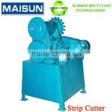 strip cutter machine for waste tyre/used tires recycling production line