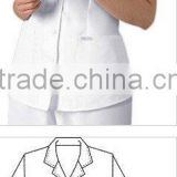 White Scrub Tops