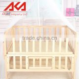 Wooden Baby Convertible Crib With Wheels Cute Baby Cribs