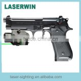Tactical Green Laser Sight and LED used for Glock and rifle